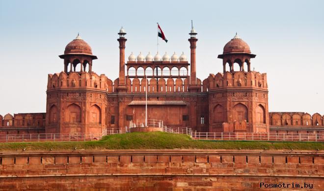 Красный форт Дели Индия