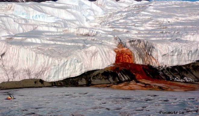 Кровавый водопад Тейлор, Антарктида