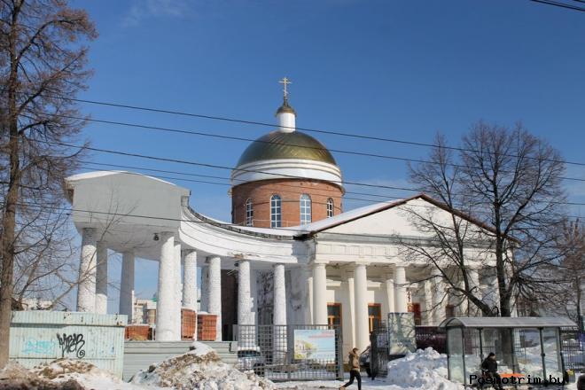 Спасский храм Уфа