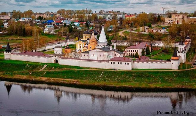 Архитектурный ансамбль Свято-Успенского Старицкого монастыря