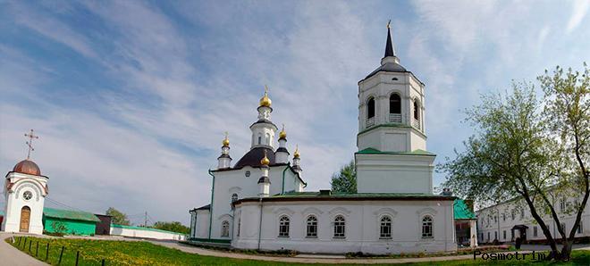 Возрождение Богородице-Алексиевского монастыря в Томске