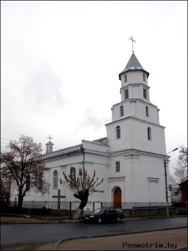 Архитектура костёла в Борисове