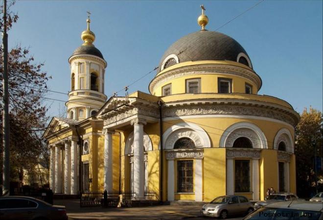 Скорбященская церковь на Ордынке Москва