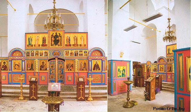 Воскресенский храм Волоколамска внутри