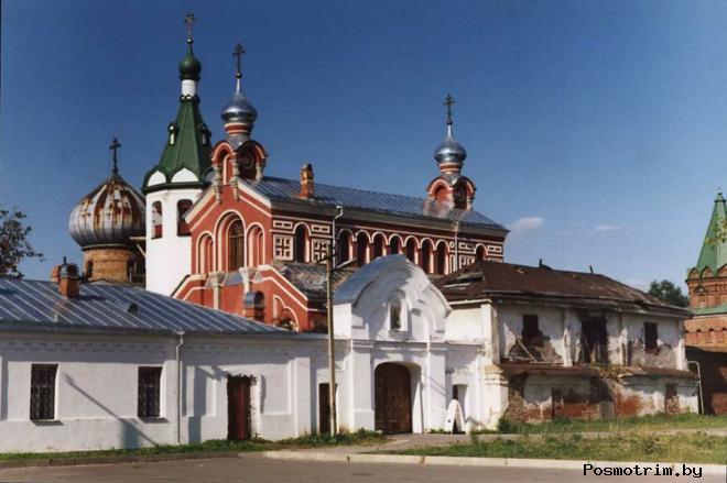 Никольский мужской монастырь в Старой Ладоге