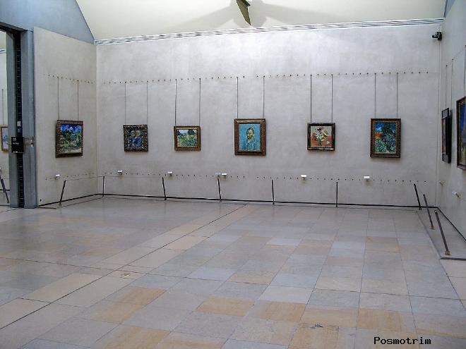 Верхний уровень музея Орсе: импрессионизм и постимпрессионизм