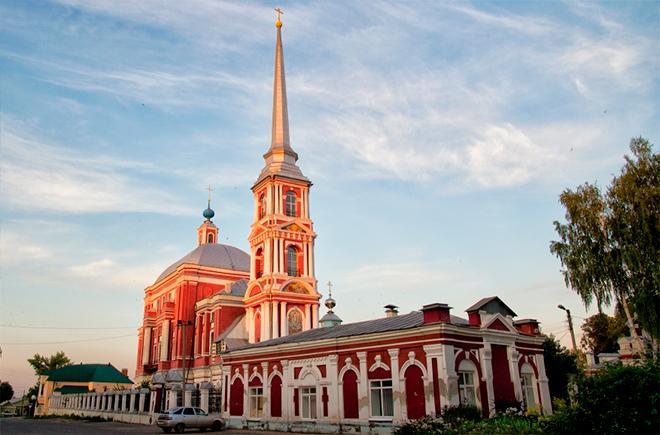 Ильинский храм Мичуринск