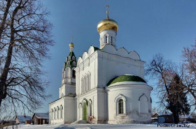 Бужарово Преображенская церковь