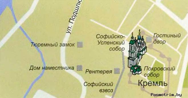 Софийско-Успенский кафедральный собор Тобольска богослужения контакты как добраться расположение на карте