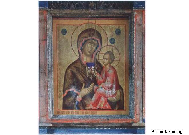 Тихвинская икона Божией Матери Успенского храма