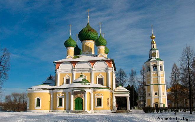 Архитектура Преображенского собора Углича