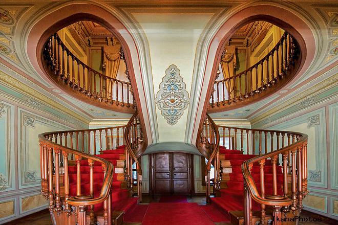 Роскошное убранство дворца Йылдыз