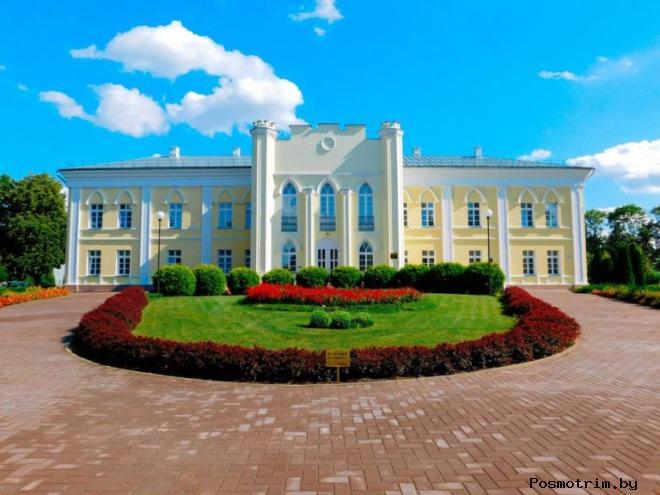 Кричевский дворец Потёмкина фото история дворца в Кричеве