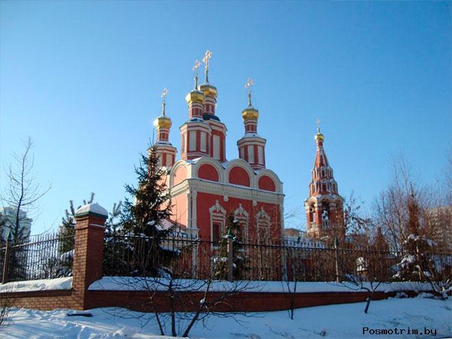 Храм в Тропареве в советское время и сегодня