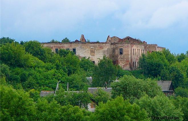 Быховский замок во времена Сапег в быхове было два каменных строения замок и синагога