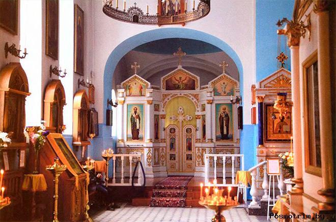 Зеленогорск храм Казанской Божией Матери внутри