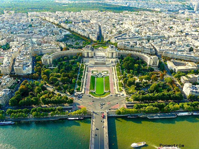 Дворец Шайо Париж Франция расположение на карте Парижа адрес как добраться самостоятельно график режим работы стоимость билетов посещения