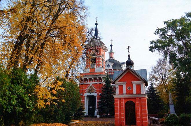 Смоленская церковь в Ивантеевке архитектура