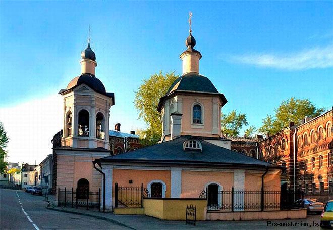 Архитектура храма преподобного Сергия Радонежского в Крапивниках