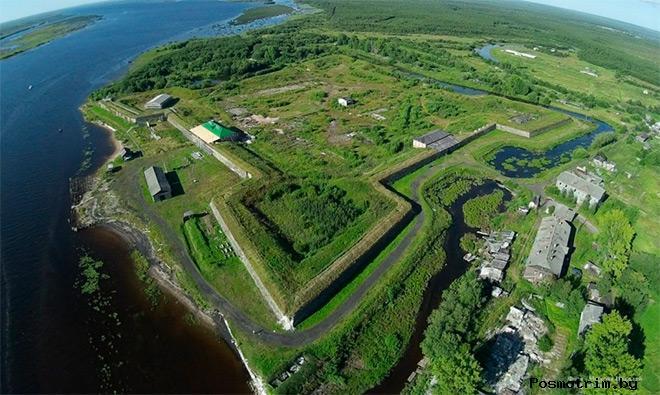 Новодвинская крепость Архангельск