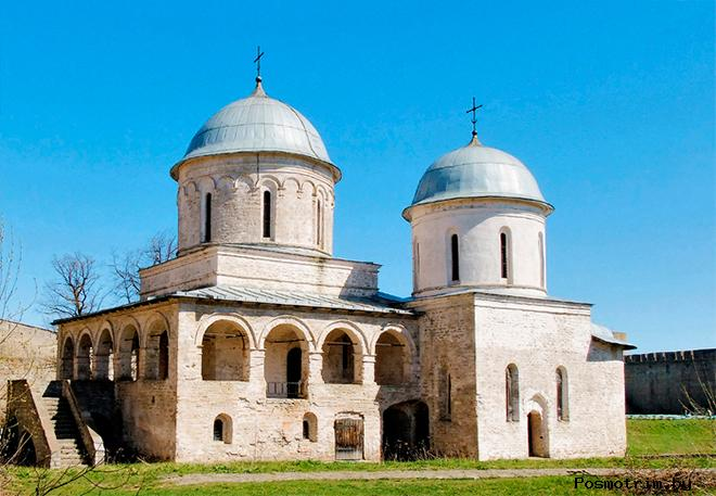 Успенская церковь Ивангород