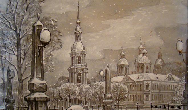 История строительства Николо-Богоявленского собора в Петербурге