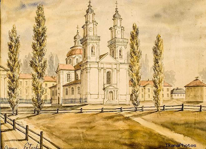 Софийский собор в полоцке сегодня