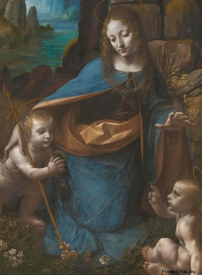 Мадонна в скалах Леонардо да Винчи (1452- 1519)