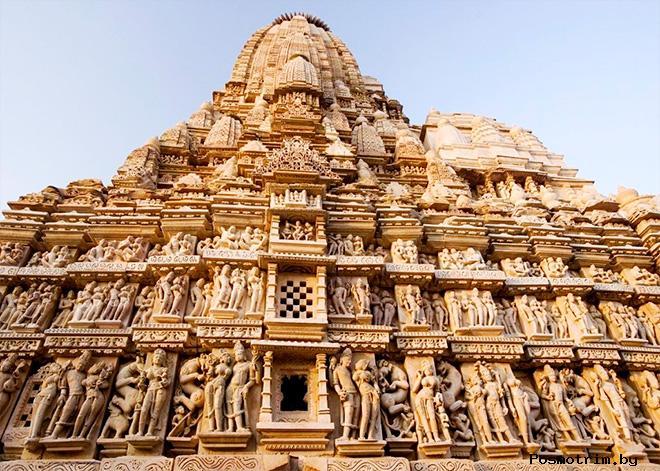 Храмы Кхаджурахо Индия