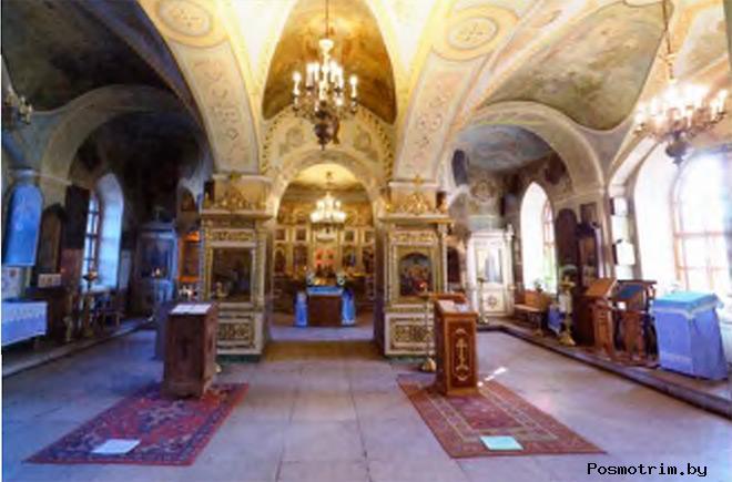 Церковь в Быково внутри