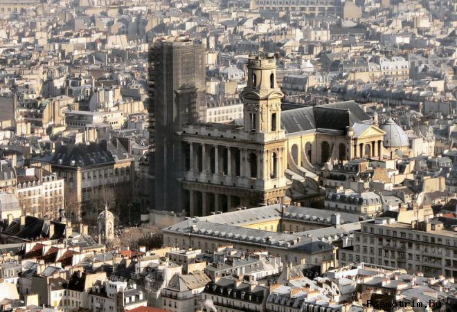 Расположение церкви Сен-Сюльпис на карте Парижа добраться самостоятельно