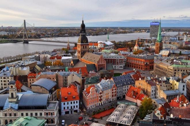 Старая Рига Латвия