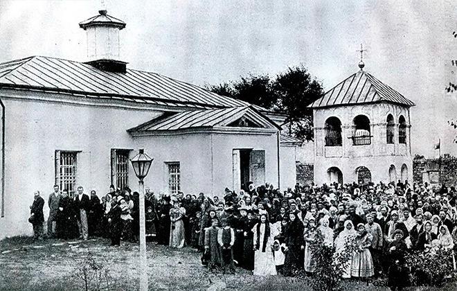 Строительство храма Покрова Пресвятой Богородицы в Тамани
