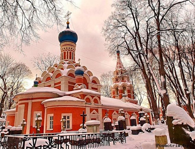 Малый собор Донского монастыря