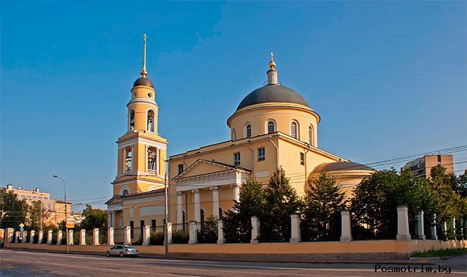 Храм Большое Вознесение у Никитских ворот в Сторожах Москва