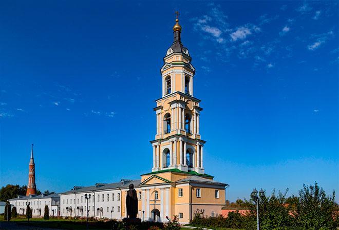 Старо-Голутвин монастырь Коломна