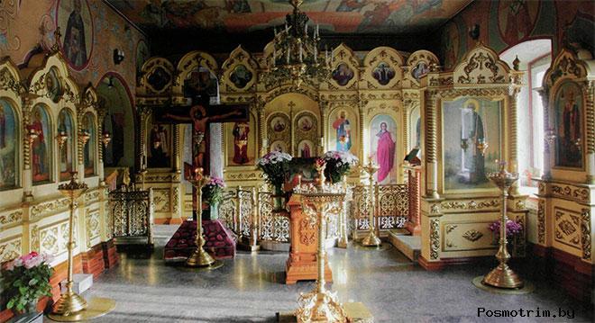 Троицкий храм Мосрентген внутри