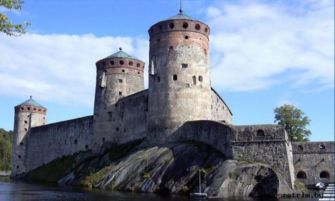 Олафсборг Финляндия Замок Олавинлинна