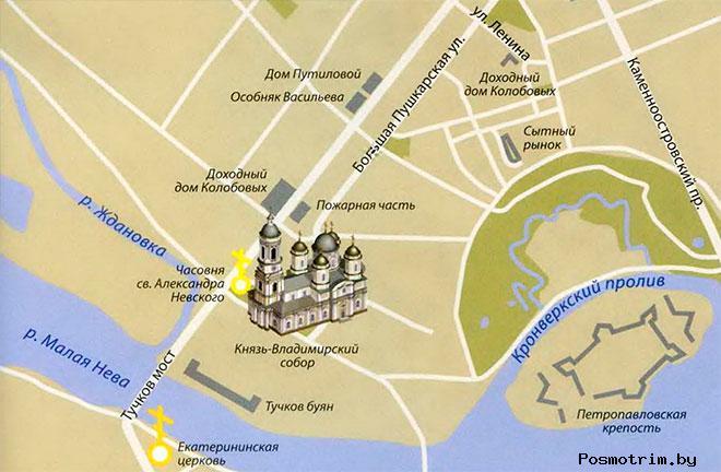 Князь-Владимирский собор расписание богослужений контакты как добраться расположение на карте