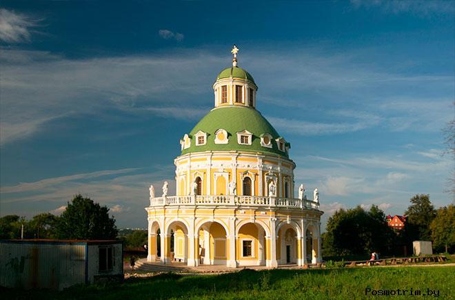 Архитектура церкви Рождества Пресвятой Богородицы в Подмоклово
