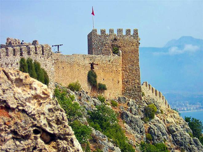 Легенда  крепости Клеопатры в Алании Турция