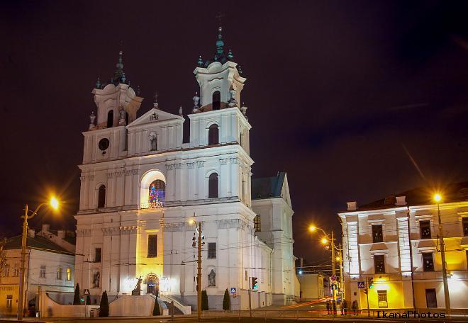 Архитектура и убранство костёла в Гродно