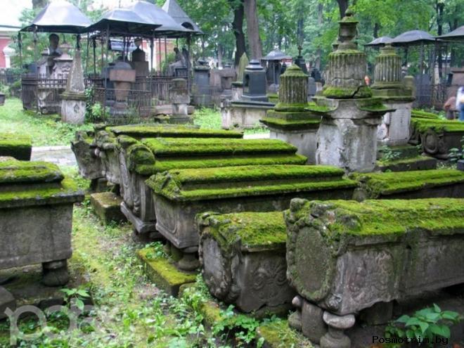 Старое кладбище Донского монастыря