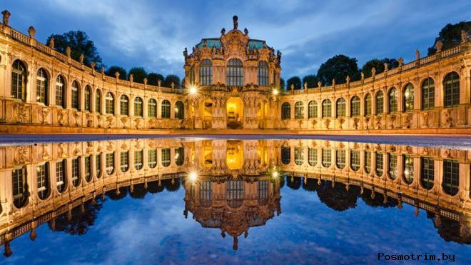 Дворец Цвингер Германия Дрезден