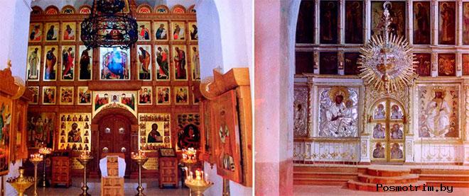 Внутри Успенского собора Старицкого монастыря