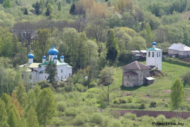 Мальский монастырь Псковской области (Онуфриева пустынь)
