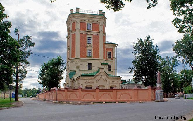 Певческая башня Пушкин история