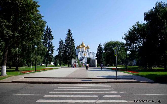 Бульвар Мира Ярославль
