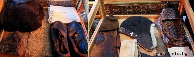 Вещи святого Серафима в Дивеевском монастыре