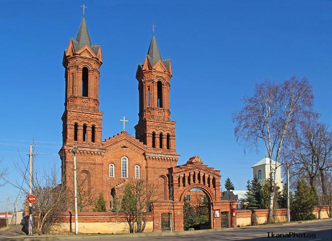 Костёл Святой Варвары Витебск фото история описание